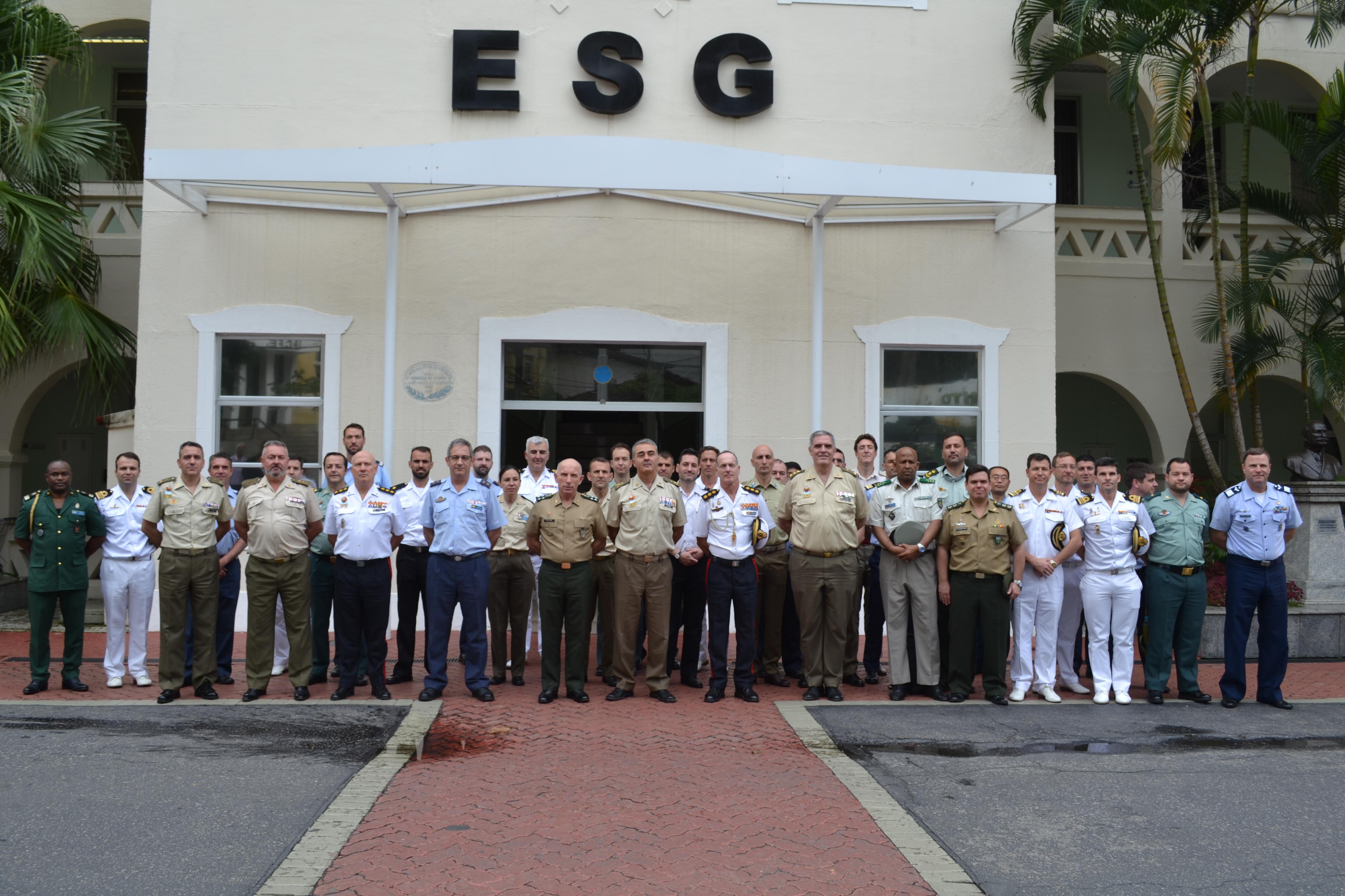 ESG recebe visita da Comitiva da Espanha