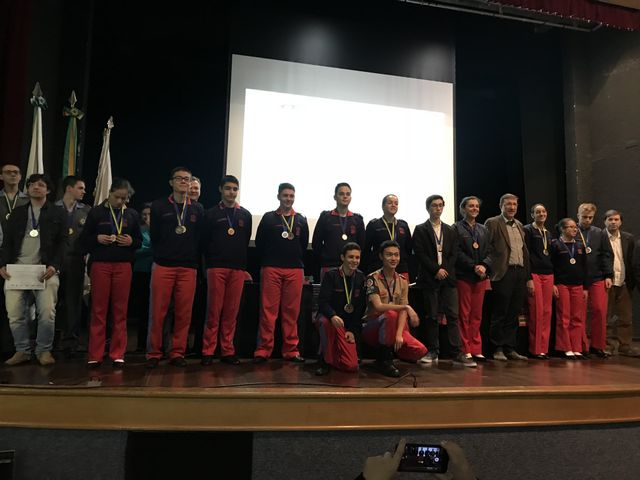 Premiação da Olimpíada Brasileira de Física das Escolas Públicas no Estado do Paraná