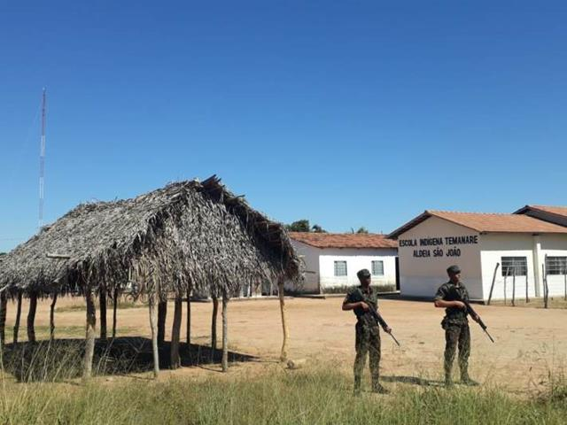 Exército Brasileiro atua na garantia da votação e apuração das eleições suplementares em Tocantins