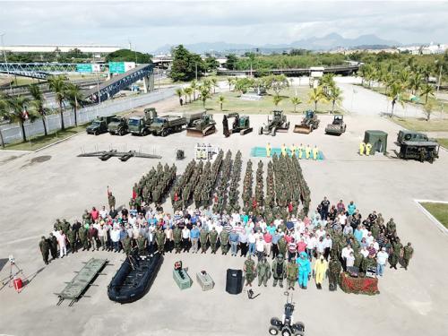 Batalhão de Engenharia de Fuzileiros Navais comemora o 60º Aniversário
