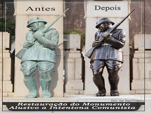 Fundição do Arsenal restaura monumento histórico