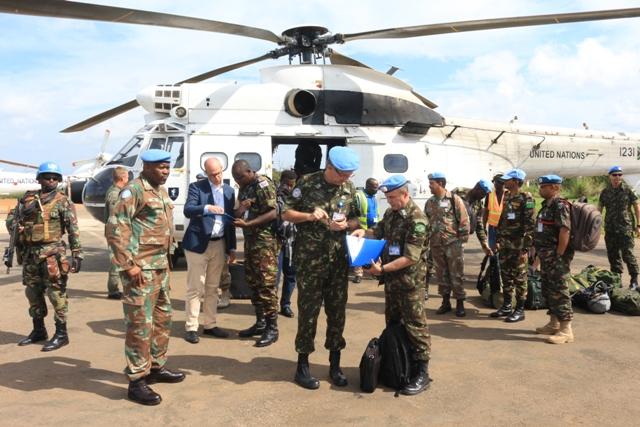 Preparação e planejamento operacional da tropa na República Democrática do Congo