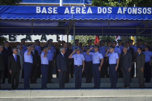FAB realiza solenidade comemorativa ao dia do CAN e da Aviação de Transporte