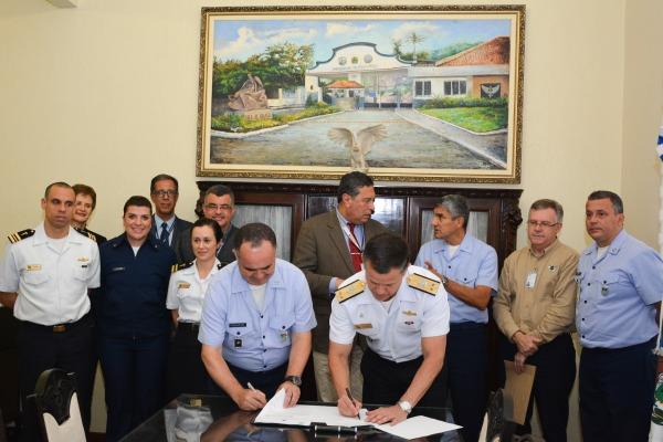 UNIFA e Comissão de Desportos da Marinha do Brasil assinam Termo de Cooperação Técnica