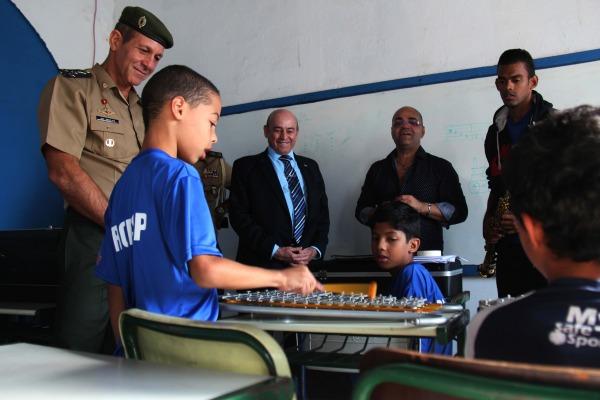 Comitiva do Ministério da Defesa visita instalações do PROFESP da BASP