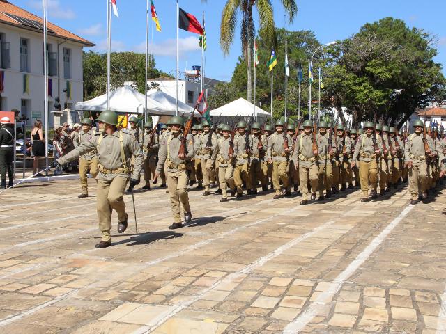 Exército Brasileiro comemora 100 anos de existência em Três Corações