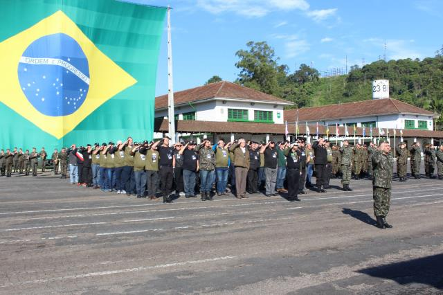 10° Encontro dos Veteranos do Grupo de Polícia do Exército do Brasil