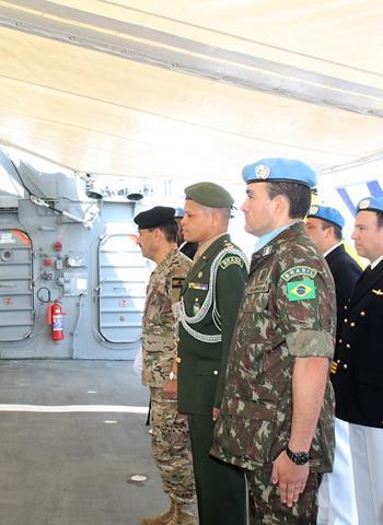 Força Interina das Nações Unidas no Líbano Comemora Batalha Naval do Riachuelo