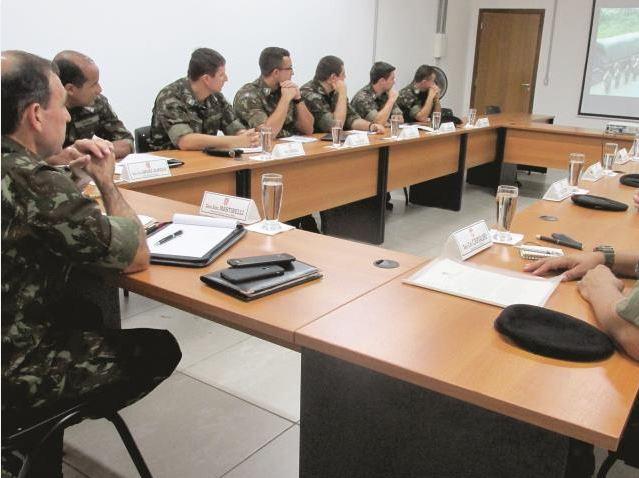 1ª Visita de Orientação Técnico-Pedagógica do Diretor de Educação Técnica Militar ao Centro de Instrução de Artilharia de Mísseis e Foguetes