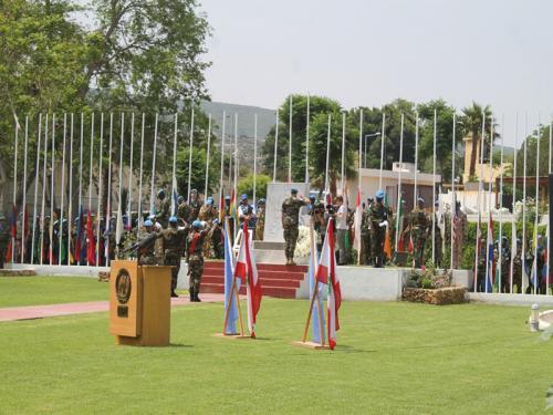 """Força Interina das Nações Unidas no Líbano comemora o """"Dia Internacional dos Mantenedores da Paz"""""""