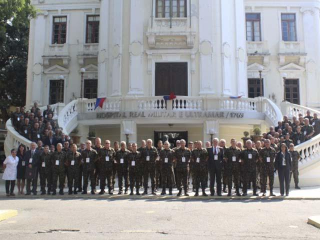 3° Simpósio de Boas Práticas na Área de Saúde é aberto no Rio de Janeiro e reúne militares de todo o País