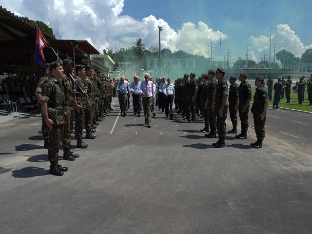 40º Aniversário de criação do 4º CGEO e IV Encontro Nacional dos Veteranos do Serviço Geográfico