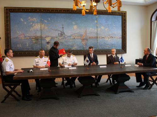 Acordo de Cooperação é assinado entre Marinha do Brasil e Itanhangá Golf Club