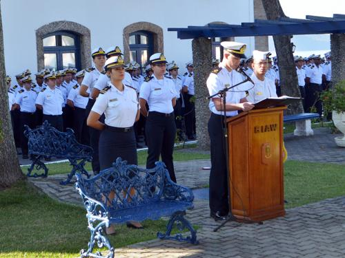 CIAW celebra 180º aniversário de seu Patrono, Almirante Wandenkolk