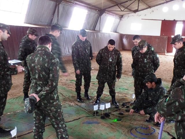 Comandantes de frações participam de Jornada Técnica e Tática de Pelotão de Cavalaria Mecanizado