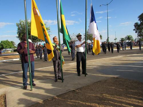 Capitania Fluvial do Araguaia-Tocantins participa de desfile cívico-militar em Porto Nacional-TO