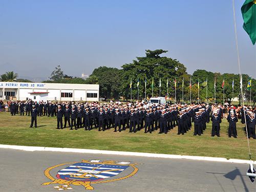 Centro de Instrução Almirante Alexandrino realiza cerimônia de encerramento do Curso de Especialização para Praças