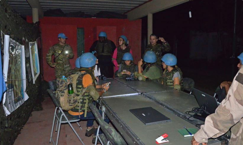Centro de Operações de Paz oferece curso para profissionais da imprensa