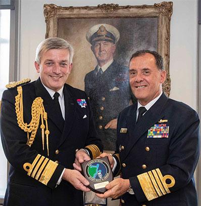 Chefe do Estado-Maior da Armada se reúne com autoridades francesas e britânicas