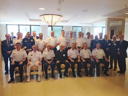 Comandante do 1º Distrito Naval abre 7º Conferência Anual de Navios Patrulha Oceânicos e Navios de Guerra