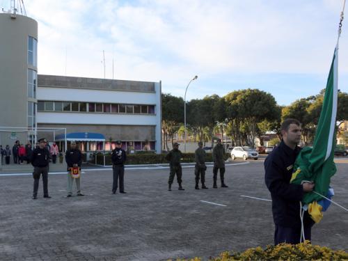 Comando do 5º Distrito Naval realiza projeto Pátria Amada Brasil