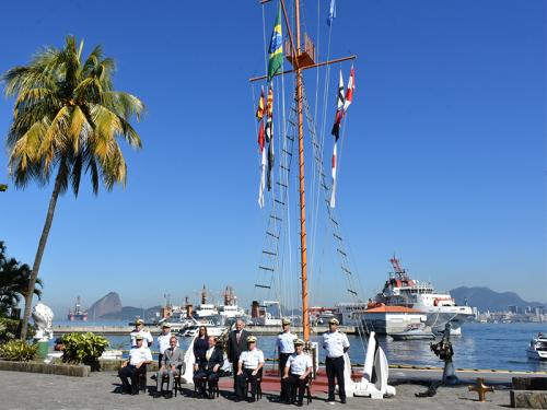 Diretoria de Hidrografia e Navegação recebe visita do Secretário-Geral da Organização Marítima Internacional