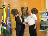 Diretoria de Portos e Costas recebe visita