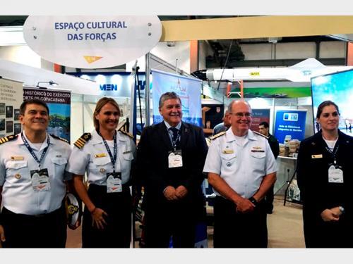 Diretoria do Patrimônio Histórico e Documentação da Marinha divulga atividades culturais na Ridex 2018