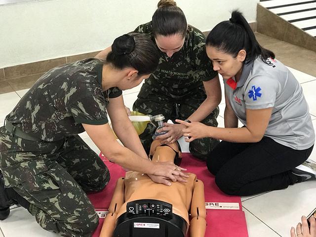 Em Brasília, Projeto Atendimento Integrado Odontológico inicia Curso de Emergências Médicas