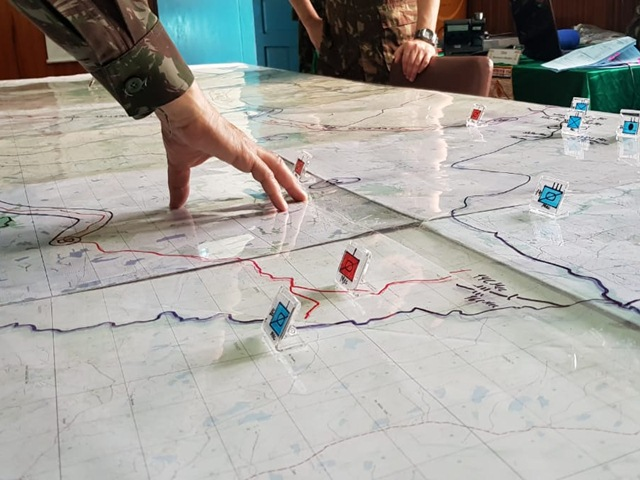 Em Cascavel, exercício avançado de simulação construtiva adestra Estado-Maior de Grandes Unidades