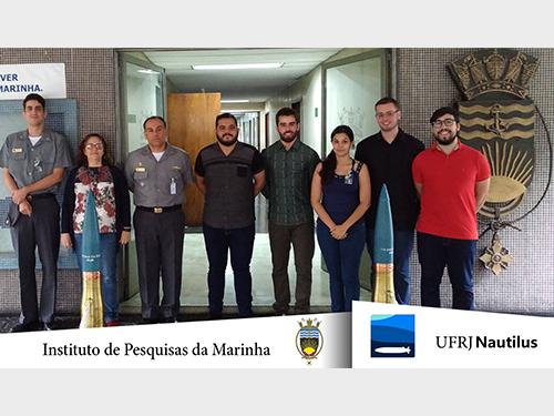 Equipe UFRJ Nautilus, apoiada pelo IPqM, representará o Brasil na ROBOSUB 2018 nos Estados Unidos