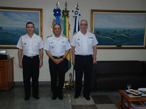 Força de Submarinos recebe Diretor-Geral de Material da Armada Argentina