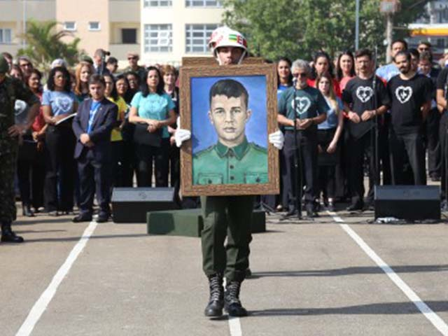 Homenagem ao Sargento Mário Kozel Filho, morto há 50 anos em atentado contra Quartel-General do Ibirapuera