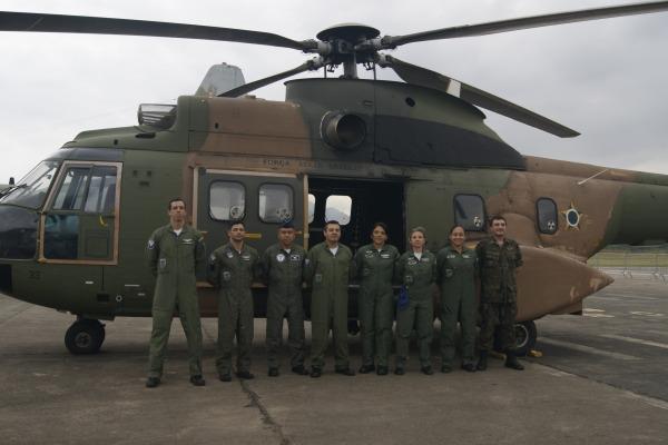 Instituto de Medicina Aeroespacial sedia intercâmbio técnico com Força Aérea Chilena