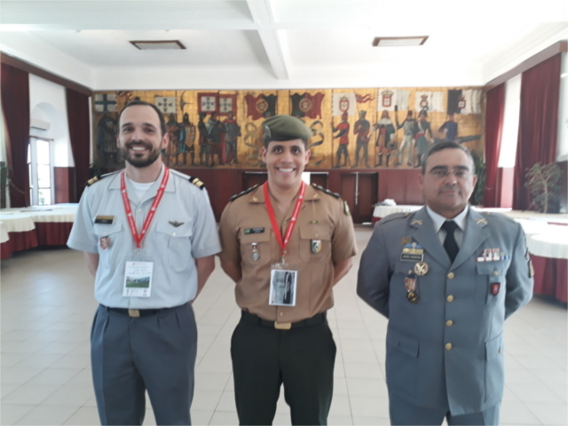 Militar do Exército Brasileiro participa de conferência internacional em Portugal