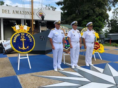 Marinha do Brasil participa das Festas Pátrias em Letícia- Colômbia