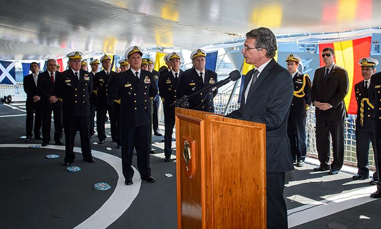 Navio Escola Brasil está pronto para partir