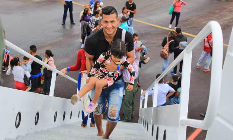 Operação Acolhida: migrantes venezuelanos são transferidos para PB, PE e RJ