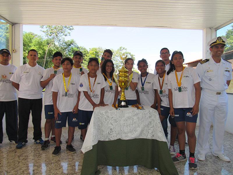 2º Batalhão de Operações Ribeirinhas realiza Torneio de Orientação para alunos do Programa Forças no Esporte
