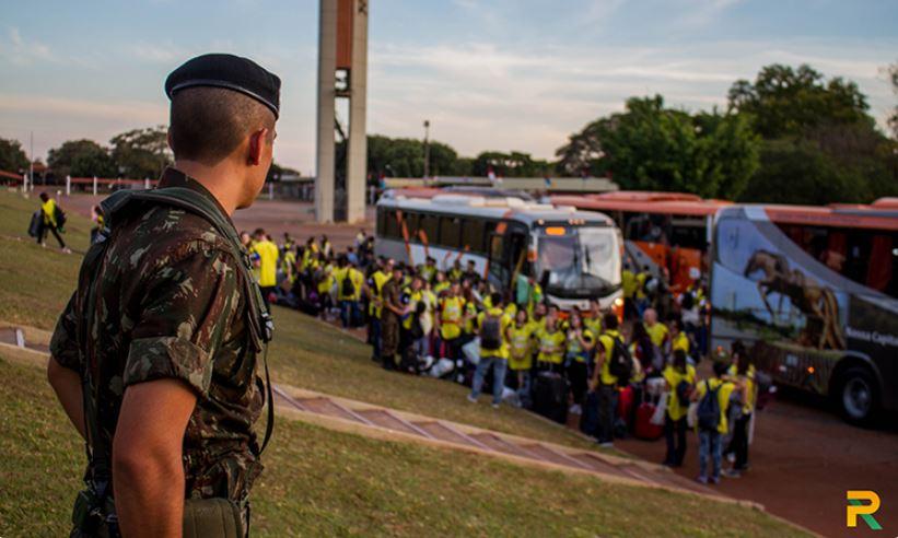 Rondonistas iniciam ações da Operação Pantanal em Campo Grande (MS)