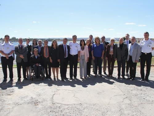 Sociedade Amigos da Marinha-Distrito Federal visita Capitania Fluvial de Brasília
