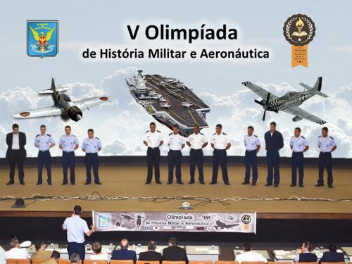 Aspirantes da Escola Naval participam da 5ª Olimpíada de História Militar e Aeronáutica da Academia da Força Aérea