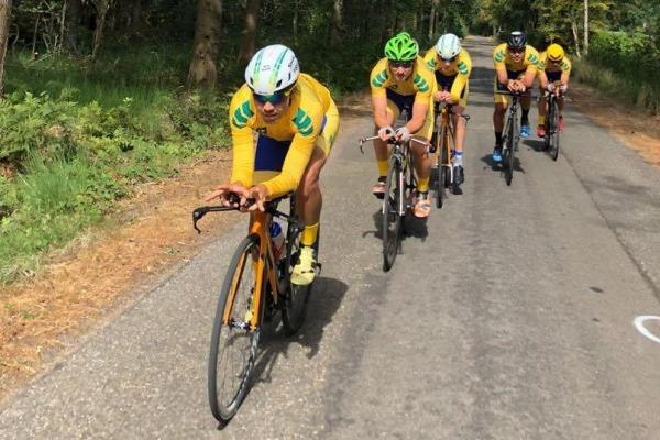 Atletas da FAB representam o Brasil no Campeonato Mundial de Ciclismo Militar