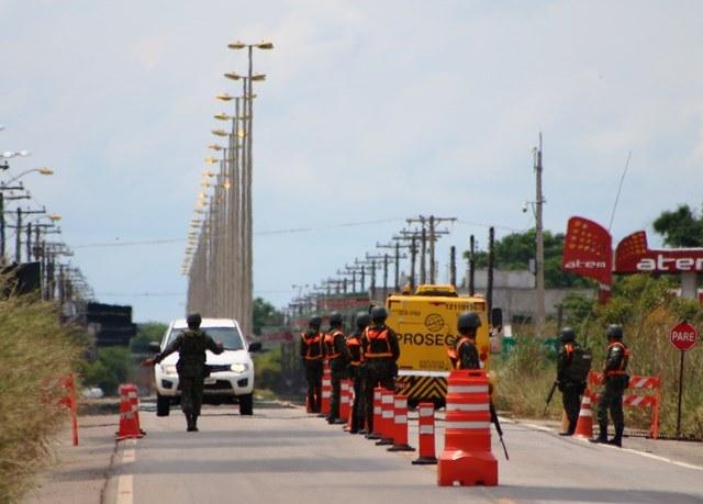 Cerca de 1.000 militares intensificam presença do Exército junto à faixa de fronteira no Estado de Roraima