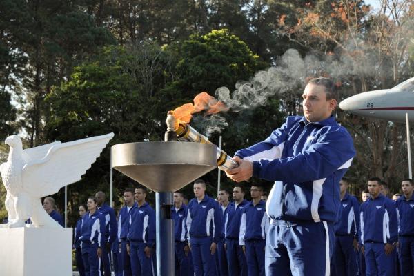 Cerimônia marca o início da segunda edição da Olimpíada Esportiva do DCTA