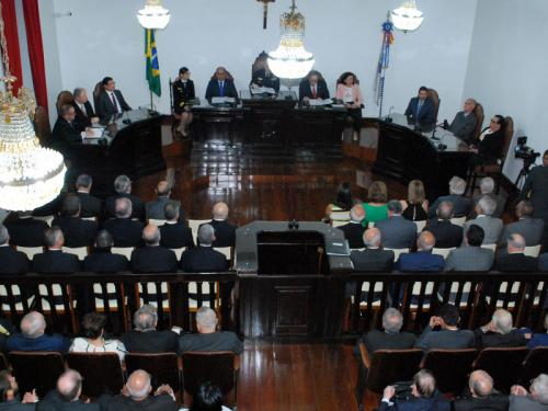 Comandante da Marinha dá posse ao novo Presidente do Tribunal Marítimo