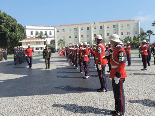 Companhia de Polícia do Batalhão Naval é empregada na visita do Comandante do Corpo de Fuzileiros Navais dos Estados Unidos da América