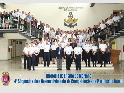 Diretoria de Ensino da Marinha promove 4º Simpósio sobre Desenvolvimento de Competências da Marinha do Brasil