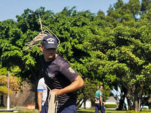 Escola de Aprendizes Marinheiros de Santa Catarina é bicampeã do Lançamento de Retinida na 3ª OLEAM