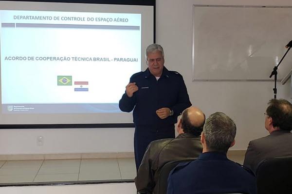 Força Aérea sedia a 1ª Reunião de Acordo de Cooperação Técnica Brasil-Paraguai